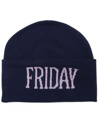 Alberta Ferretti - Friday Wool & Cashmere Knit Hat - Lyst