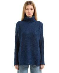 Simon Miller | Mohair & Silk Boucle Turtleneck Sweater | Lyst