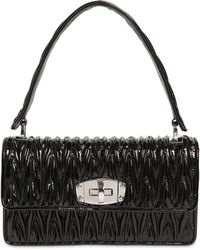 Miu Miu - Small Cleo Quilted Patent Leather Bag - Lyst