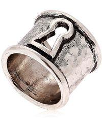 Alcozer & J - Keyhole Ring - Lyst