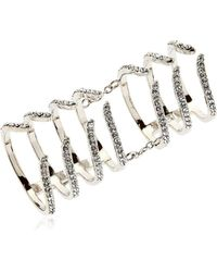 FEDERICA TOSI - Armour Hook Articulated Ring - Lyst