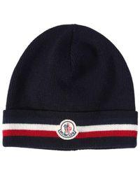 1e052fd91b2a Lyst - Men s Moncler Hats Online Sale
