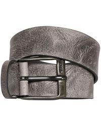DIESEL - 40mm Vintage Treated Leather Belt - Lyst