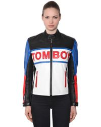 Filles A Papa - Tomboy Leather Jacket - Lyst