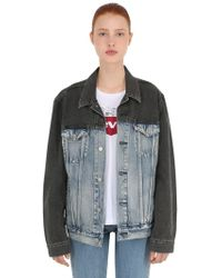 Levi's - The Truncker Cotton Denim Jacket - Lyst