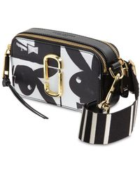 Marc Jacobs - Snapshot Playboy Leather Shoulder Bag - Lyst