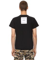 Vetements - Inside-out Cotton Jersey T-shirt - Lyst