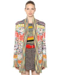 Missoni - Cashmere Blend Knit Cardigan - Lyst