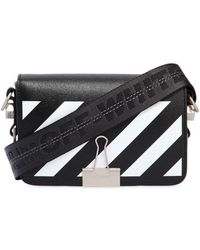 Off-White c/o Virgil Abloh - Mini Diagonal Stripes Leather Bag - Lyst