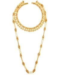 Vanina - The Mercury Collar Necklace - Lyst