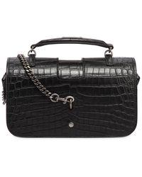 Saint Laurent - Medium Charlotte Embossed Leather Bag - Lyst
