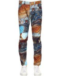 G-Star RAW - Elwood Printed Tapered Denim Jeans - Lyst
