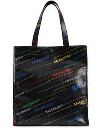 Balenciaga - Borsa Shopping In Pelle - Lyst