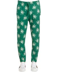Gucci - Printed Jersey Track Trousers - Lyst