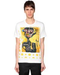 Comme des Garçons - Comme Des Garçons X Jean-michel Basquiat Graphic Print T-shirt - Lyst