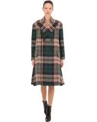 Vivienne Westwood - Oversized Double-breasted Wool-tweed Coat - Lyst