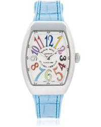 Franck Muller - Vanguard Lady Colour Dream Quartz Watch - Lyst