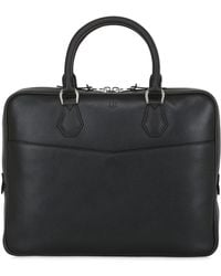 Dunhill - Slim Leather Single Document Case - Lyst