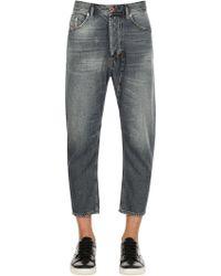 DIESEL - 17cm Narrot Vintage Washed Denim Jeans - Lyst