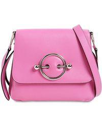 6d1a382b460 JW Anderson - Disc Leather Shoulder Bag - Lyst