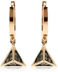 Jezebel London 14kt Rose Gold Dean Hoop Earrings Ql1JOu