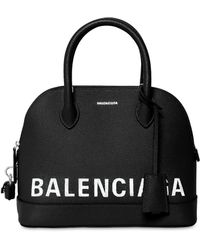 Balenciaga - Small Ville Textured Leather Bag - Lyst