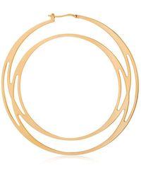 CARLO MARIA PELAGALLO - Cyclone Hoop Mono Earring - Lyst