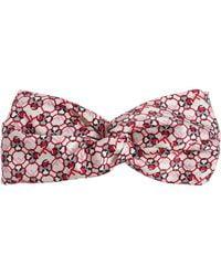 Fendi - Knotted Silk Headband - Lyst