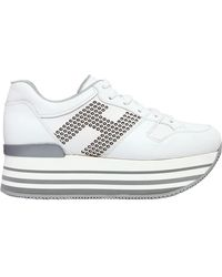 Hogan - 70mm Maxi 222 Studded Leather Trainers - Lyst