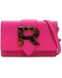 Rochas - Logo Leather Shoulder Bag - Lyst