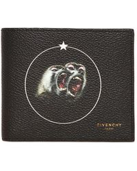 Givenchy - Monkeys Printed Faux Leather Wallet - Lyst