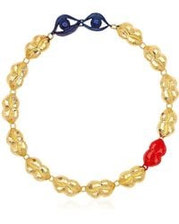 Virzi+de Luca - Kiss And Tell Necklace - Lyst
