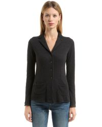 Transit - Asymmetrical Wool Blend Jacket - Lyst