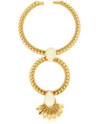 Vanina - The Bacchus Hoop Collar Necklace - Lyst