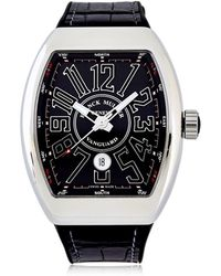 Franck Muller | Vanguard Data Solo Tempo 45mm Watch | Lyst
