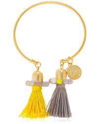 Anton Heunis | Color Block Tassel Bracelet | Lyst
