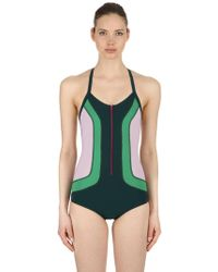 Isabel Marant - Toan Colour Block Stretch Bodysuit - Lyst