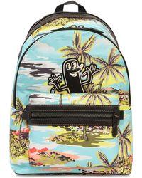 COACH - Keith Haring Printed Nylon Backpack - Lyst
