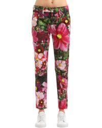 G-Star RAW - Elwood Floral Boyfriend Denim Jeans - Lyst