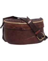 Campomaggi - Vintage Effect Leather Beltpack - Lyst
