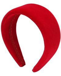 cab64d5dd411a2 Etro Haarband Aus Bedruckter Seide Mit Knotendetail in Rot - Lyst