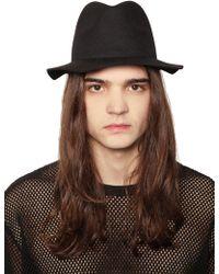 Cheap Monday - Felt Hat - Lyst