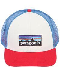 Patagonia - P-6 Logo Organic Cotton Trucker Hat - Lyst