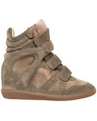 Isabel Marant | Etoile 80mm Bekett Suede Sneakers | Lyst