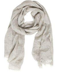 Womens Tie-Dye Cotton-Silk Gauze Scarf Destin skpfIwXv