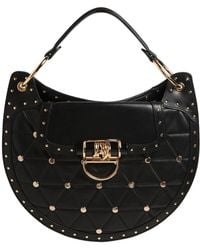Balmain - Medium Quilted Leather Bag W/ Studs - Lyst