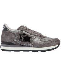 Atlantic Stars - Vega Stars Suede & Nylon Sneakers - Lyst