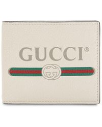 Gucci - Vintage Logo Leather Classic Wallet - Lyst