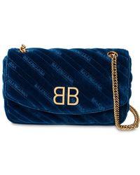 Balenciaga - Bb Round Medium Shoulder Bag - Lyst
