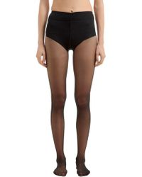 Wolford - Control Top Back Seam Stockings - Lyst